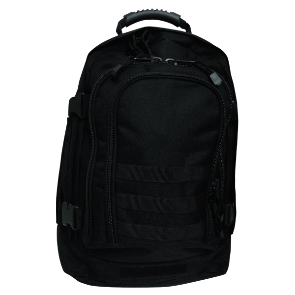 3 Day Expandable Backpack – Black