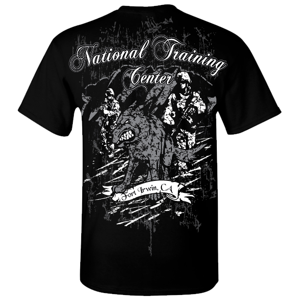 Army National Training Center Graphic Shirt