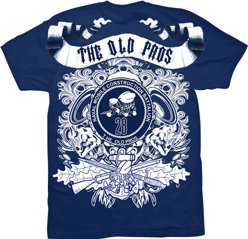 Navy MCB Graphic Shirt