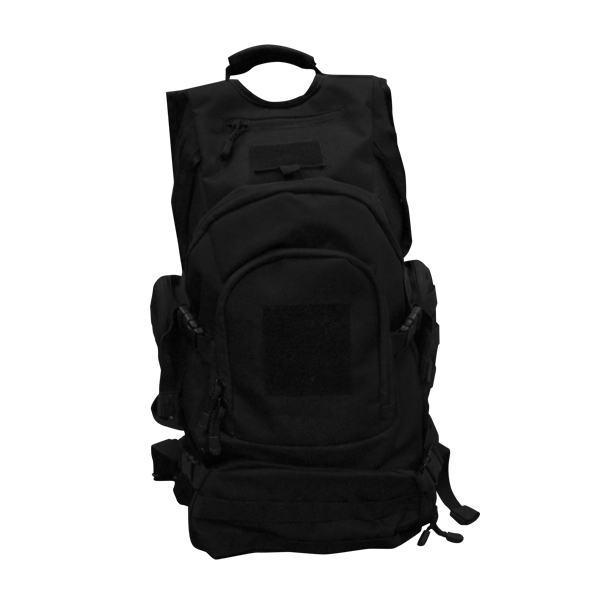 MP3 Laptop Backpack – Black