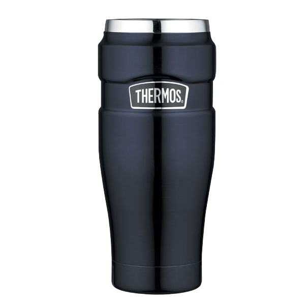 16 oz Midnight Blue Travel Tumbler